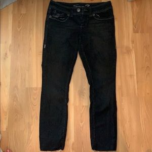 Seven ankle black Jean